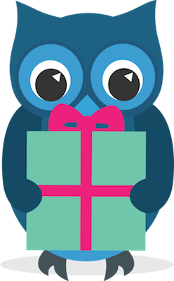 Send Owl with gift