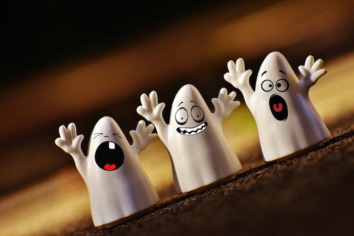 unhappy ghosts