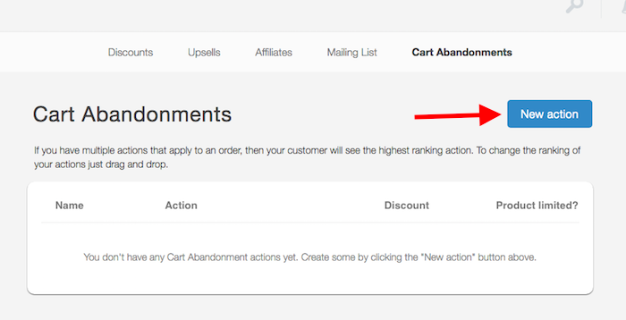 how to set up Mailchimp abandoned cart 1