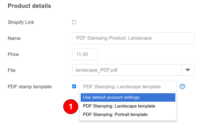 PDF Stamp Template